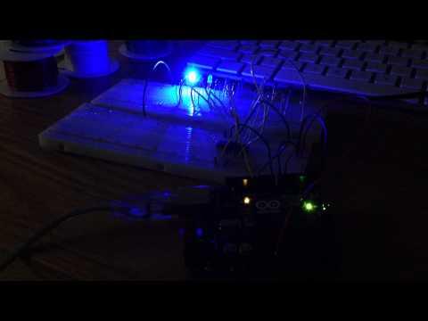 LED Arduino Code with Beat Detection Algorithm