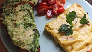 Easy Vegan Omelette || Quick and Delicious!