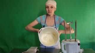 Как сделать сливочное масло/ Маслобойка /Обзор и впечатления