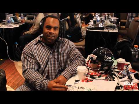 1025 the Game Presents: Super Bowl 48 Interviews - Jamal Lewis