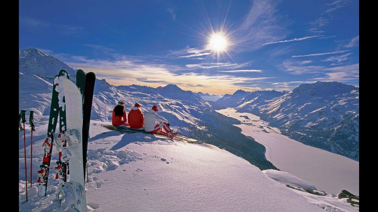 Отдых в Домбае, первый раз на лыжах. Круто.