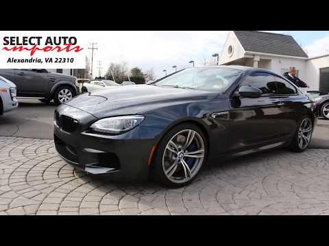 2015 BMW M6 Coupe, Singapore Gray Metallic, Select Auto Imports in Alexandria, VA #19368