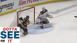 gotta-see-it-sabres-jason-pominville-stops-himself-from-scoring-tying-goal-on-empty-net