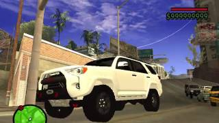 GTA  San Andreas mods 4Runner