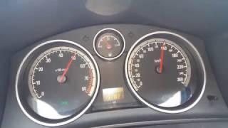 Opel Astra H kombi 1,6 l Twinport 105 HP. ACCELERATION 0-100 Przyśpieszenie --4K--