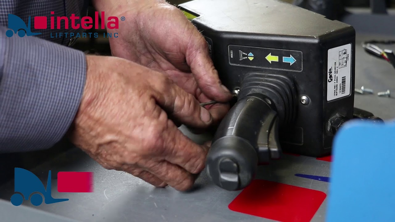how to replace a genie scissor lift joystick