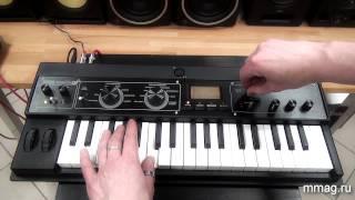 mmag.ru: Синтезатор Korg Microkorg XL+ - видео обзор