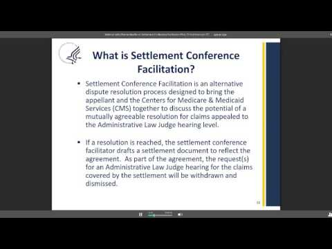 Settlement Conference Facilitation Pilot Webinar w/ OMHA