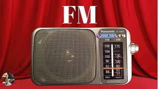 Panasonic RF-2400D Radio   Daytime FM   Radio Todderbert