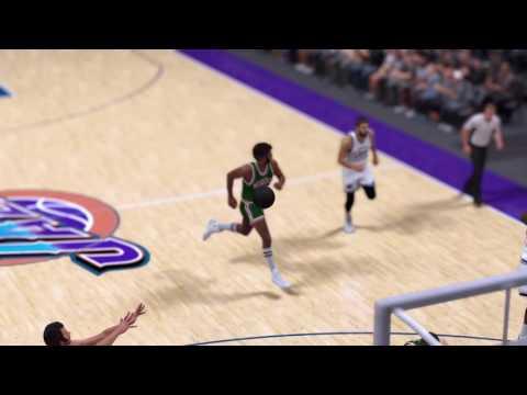 NBA 2K17 Jerry Lucas brave layup