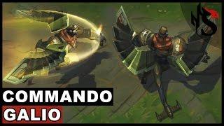 Commando Galio Skin Spotlight Champion Rework - Update 2017 (League of Legends)