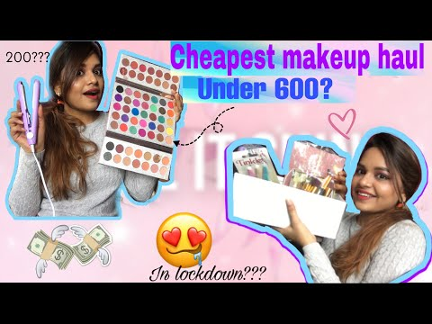 Lockdown shopping haul | cheapest under Rs. 600 | styling with surabhi from YouTube · Duration:  9 minutes 12 seconds