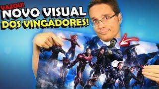 BOMBA! Imagem do NOVO VISUAL de Vingadores 4 (Detalhes e Explicações) thumbnail