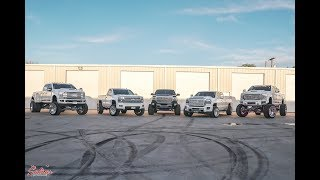 SLIGHT FLEX OF OVER HALF A MILLION DOLLARS OF TRUCKS FOR MAJOR CHALLENGE