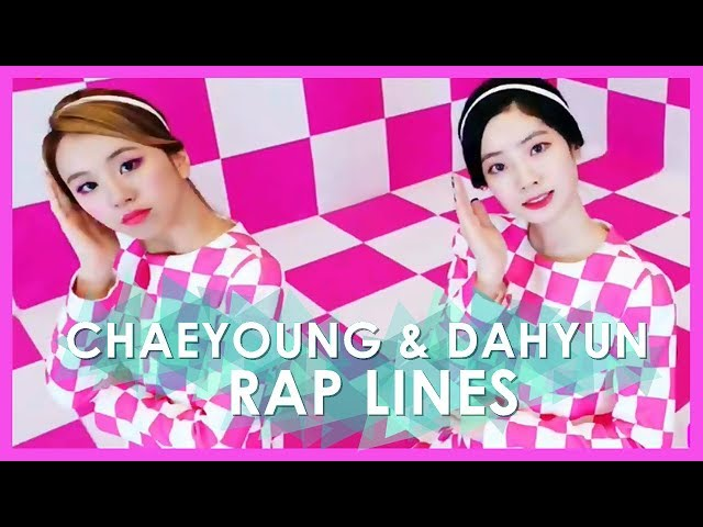 Every TWICE MVs But Its Just Chaeyoung & Dahyun Rap Lines