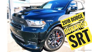 2018 DODGE DURANGO SRT!! REVIEW