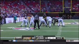 2015 Week 2 Arizona Rattlers at Las Vegas Outlaws