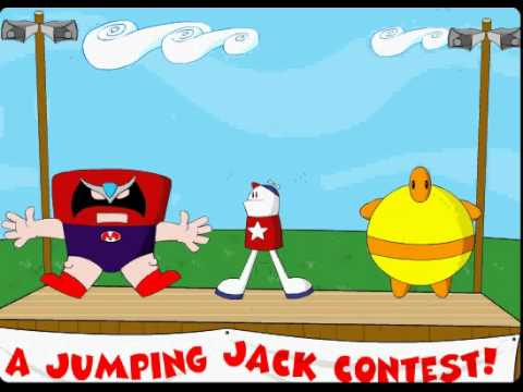A Jumping Jack Contest