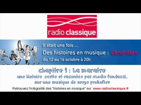 Cendrillon - conte musical pour enfants sur Radio Classique