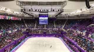 2018 평창동계올림픽 피겨스케이팅 남자싱글 SP Nathan chen