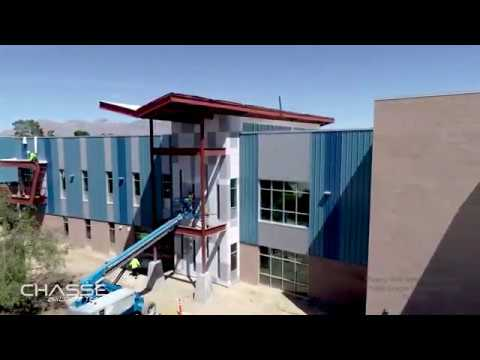 Walter Douglas Elementary School Construction Progress on March 28, 2020