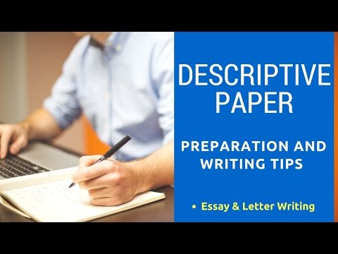 Descriptive Paper Preparation and Writing Tips for Better Marks in Descriptive Exam [ In Hindi ]