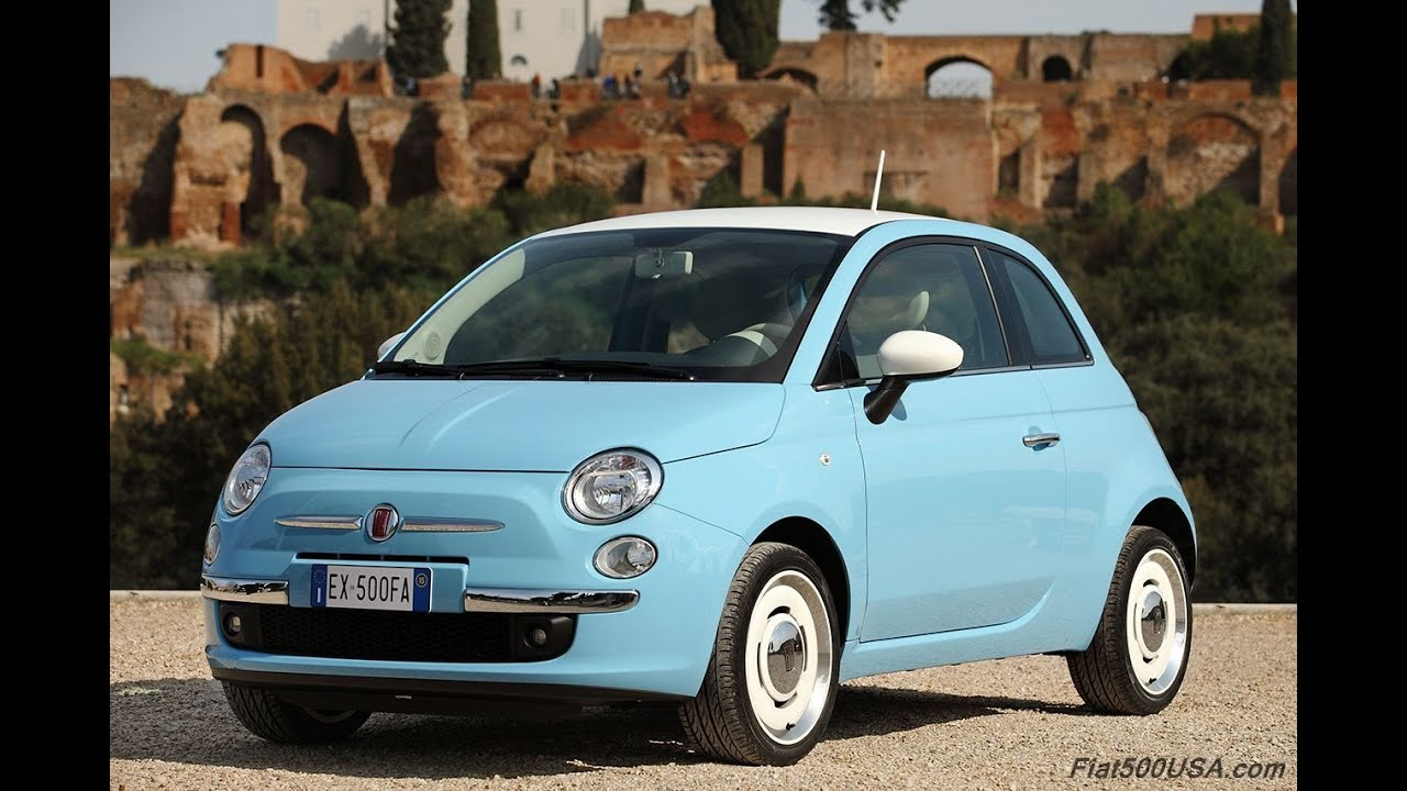 Fiat 500 1957 Edition / Vintage '57 - YouTube