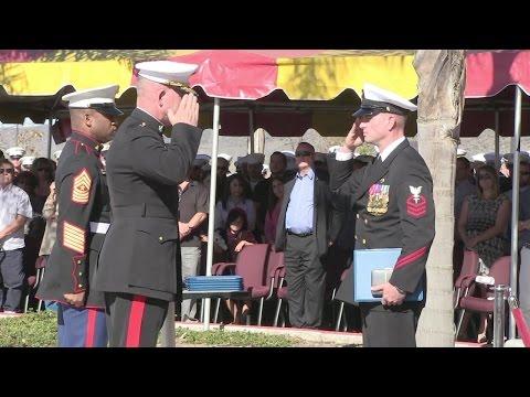 Chief Hospital Corpsman Justin Wilson Awarded Navy Cross (HL01)