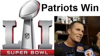 Little Tom Brady Super Bowl LI/50 Postgame Interview