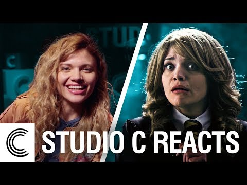 Studio C Reacts: Harry Potter and the Mirror of Erised