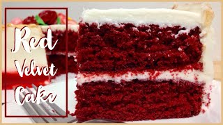 How to make the Best Moist Red Velvet Cake