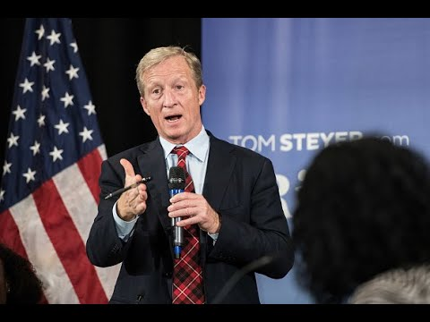 Presidential candidate Tom Steyer (D) on his wealth  tax