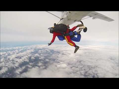 Sarah Green First Tandem Skydive.
