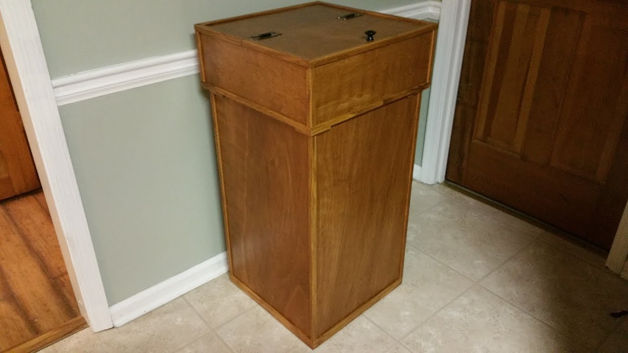 Build Your Own Man-Sized Kitchen Garbage Can