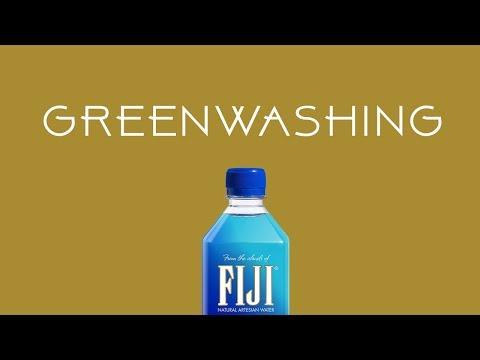 Greenwashing: A Fiji Water Story