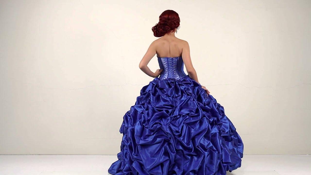 Quinceanera dress bella sera royal blue youtube quinceanera dress bella sera royal blue junglespirit Choice Image