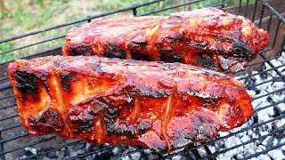 Свиные Ребрышки на Мангале / Ребра в медовом соусе на Гриле