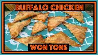 What's For Dinner? Episode 34: Buffalo Chicken Won Tons