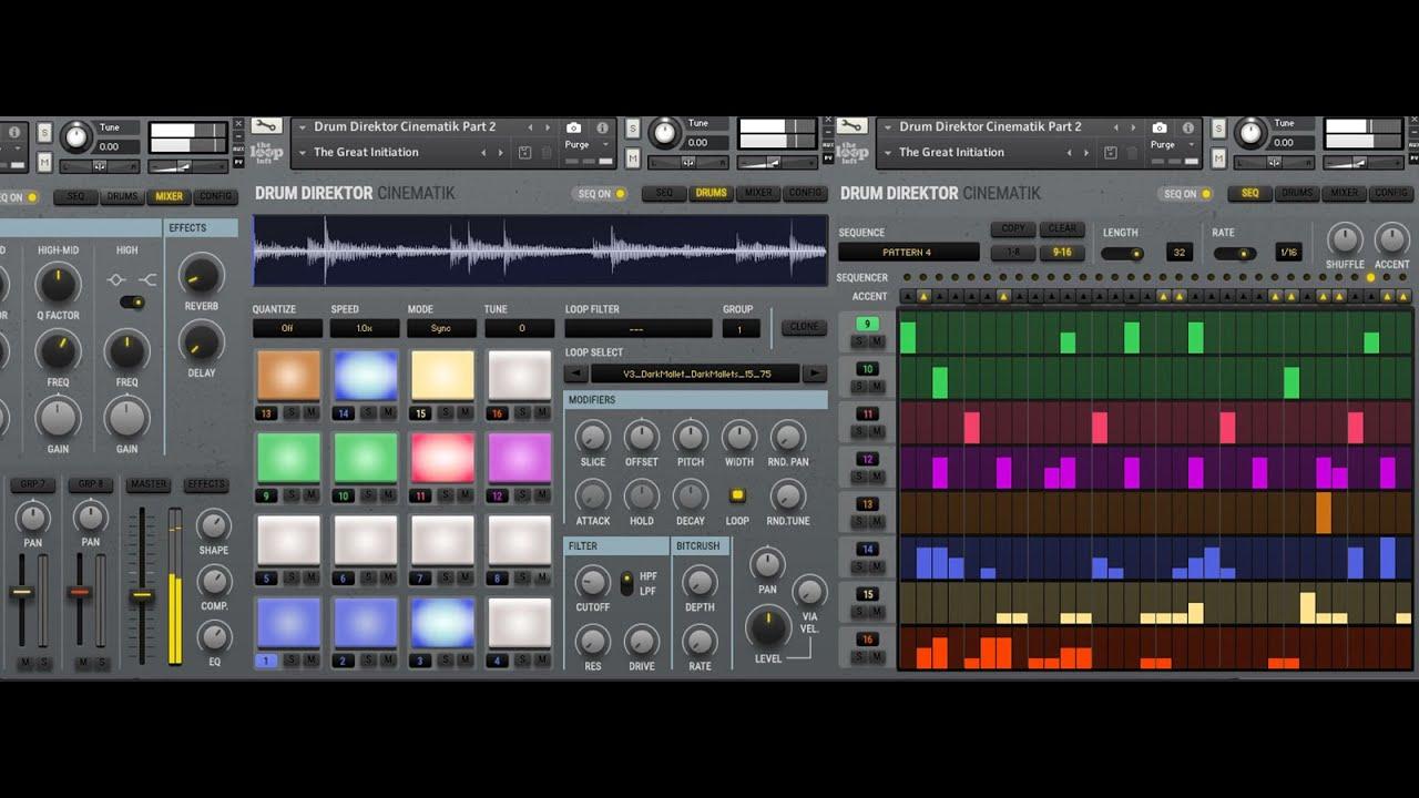 c41796985f Introducing Drum Dirketor CINEMATIK - YouTube