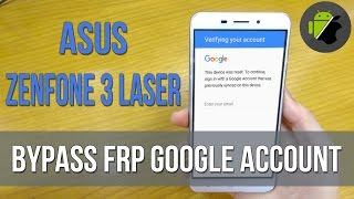 How to bypass FRP Google account Asus Zenfone 3 Laser (ZC551KL) | Very easy