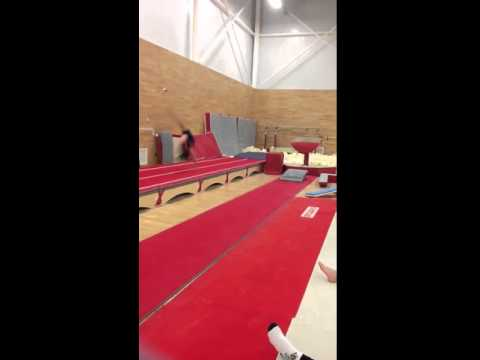 My first full twist :) - gymnastics