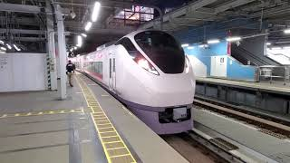 ひたち29号E657系 品川発車