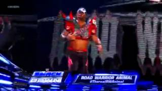 Road Warrior Animal Returns - SmackDown 20.07.2012