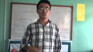 What Our Trainees Say?(Mr.Chandra P.Gurung,WORLD VISION INTERNATIONAL)