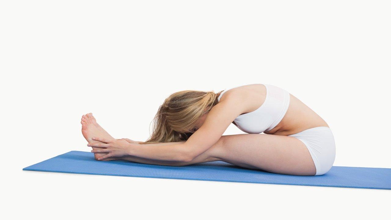 Paschimottanasana The Seated Forward Bend Yoga Youtube