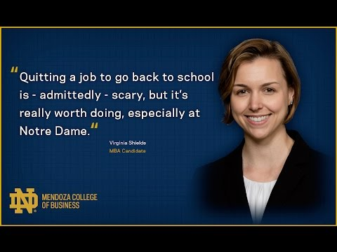 Virginia's journey in the One-Year MBA