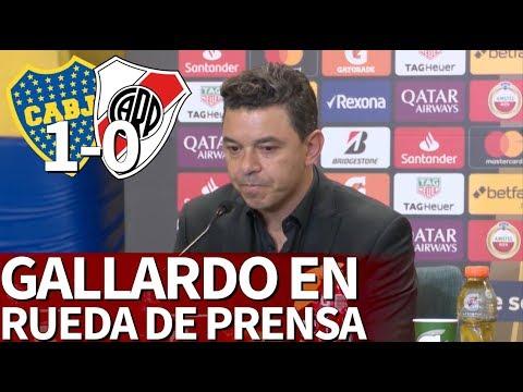 Boca 1 - River 0 | Rueda De Prensa De Marcelo Gallardo | Diario AS