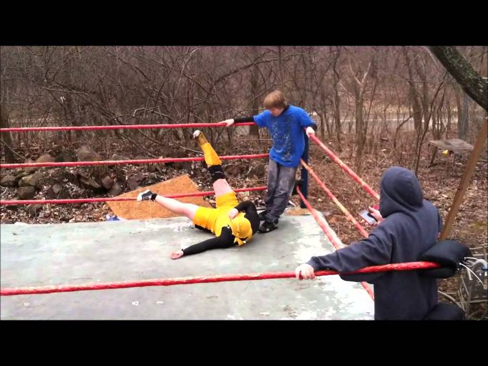 UNW Backyard Wrestling- Forsaken Fury vs Justin [Extreme ...