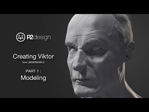 p2design - VIKTOR portrait - part 01-01 - modeling