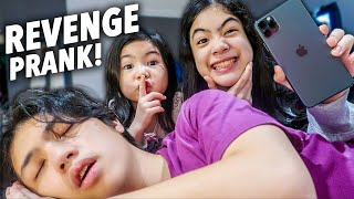 HIDING My Brothers PHONE For 24 Hours! (Revenge!!) | Ranz and Niana